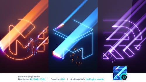Laser Cut Logo Reveal