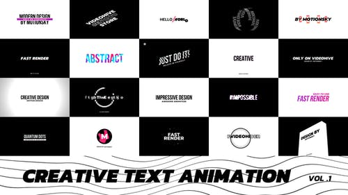 Creative Text Animation