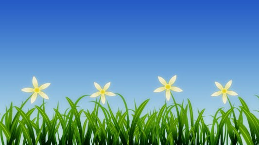 Thumbnail for Growing Grass and Flowers