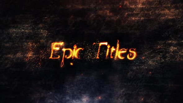 Cover Image for Epic Titles