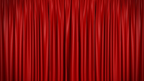 Theatrical Curtain Open 3
