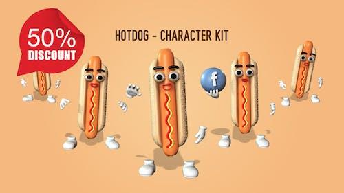 Hotdog - Character Kit