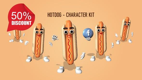 Hotdog - Kit de personnages