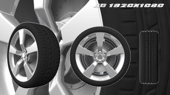 3D Animated Wheel