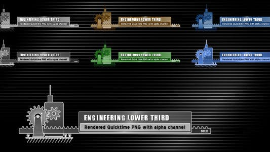 Thumbnail for Engineering Lower Third 1