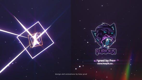 Thumbnail for Light Streaks Logo Reveals