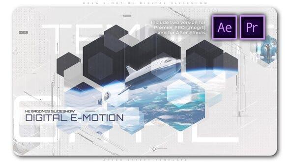 Thumbnail for Hexa E Motion Digital Slideshow