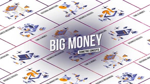 Thumbnail for Big Money - Isometric Concept