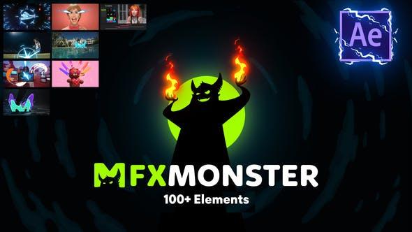Thumbnail for FXMONSTER - 100 Flash FX