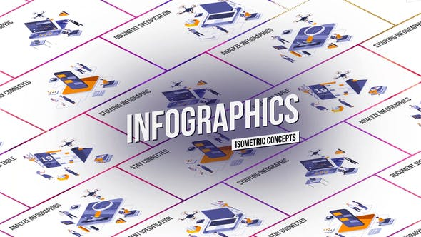 Thumbnail for Infographies - Concept isométrique