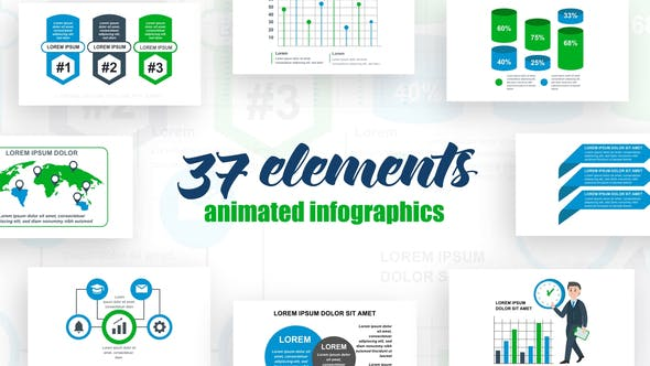 Thumbnail for Business Infographics Vol.39
