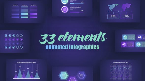 Abstract Infographics Vol.42