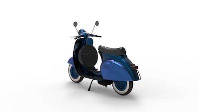 Urban Motor Scooter