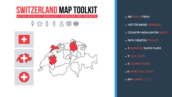 Thumbnail for Switzerland Map Toolkit