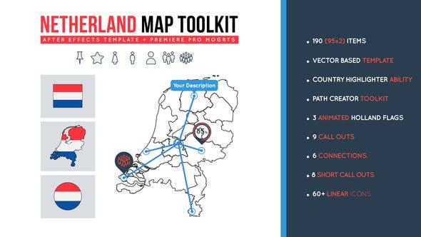 Netherland Map Toolkit