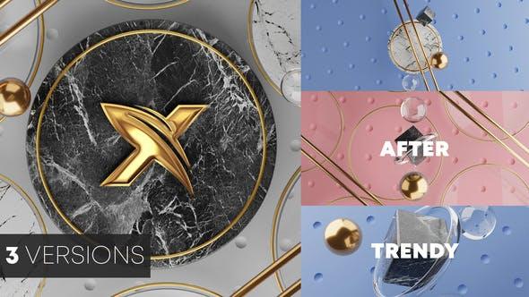 Thumbnail for Logo 3D Trendy Reveal