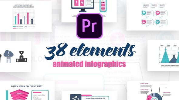 Thumbnail for Startup Infographics Vol.29 for Premiere Pro