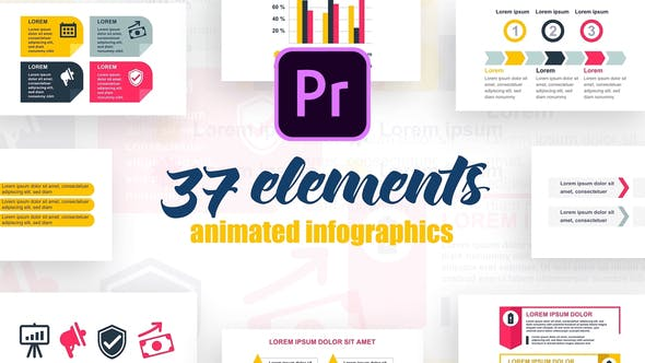 Thumbnail for Startup Infographics Vol.31 for Premiere Pro