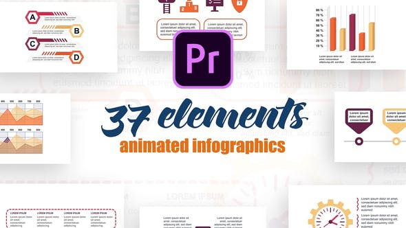 Thumbnail for Technology Infographics Vol.32 for Premiere Pro