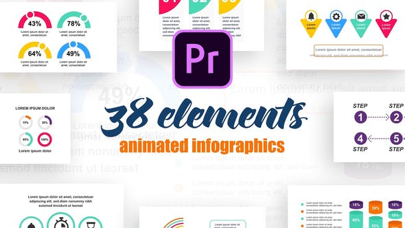 Thumbnail for Industrial Infographics Vol.33 for Premiere Pro