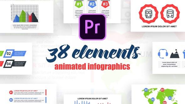 Thumbnail for Infographies d'entreprise Vol.35 pour Premiere Pro