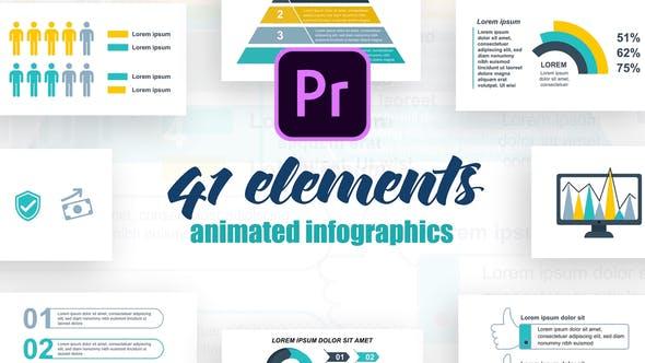 Thumbnail for Infographies d'entreprise Vol.38 pour Premiere Pro
