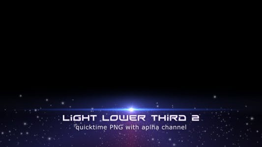 Thumbnail for Light Lower Third 2