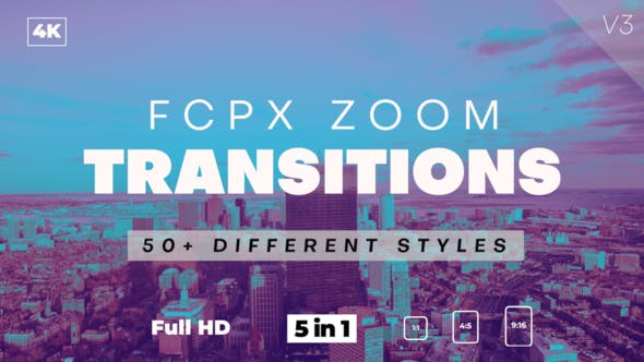 FCPX Zoom Transitions