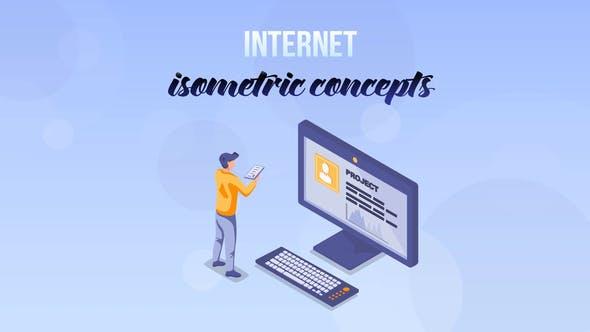 Thumbnail for Internet - Concept isométrique