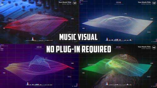 Wave Music Visualizer