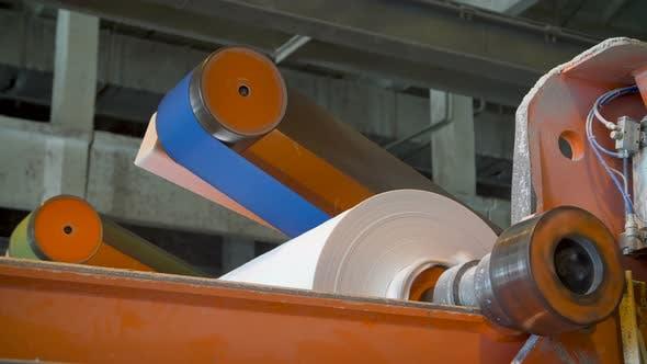 Papier- und Zellstoffmühle