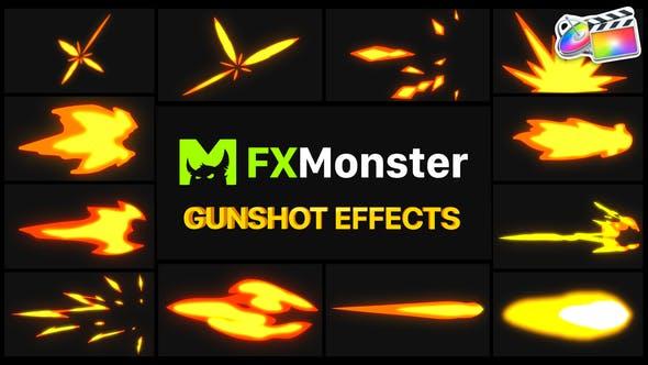Thumbnail for Gunshot Effects | FCPX