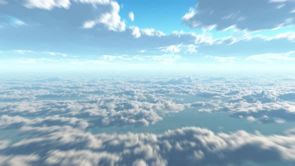 Thumbnail for View On Earth And Clouds 01 4K