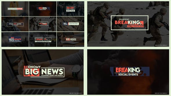 Thumbnail for News Text Titles Version 0.1