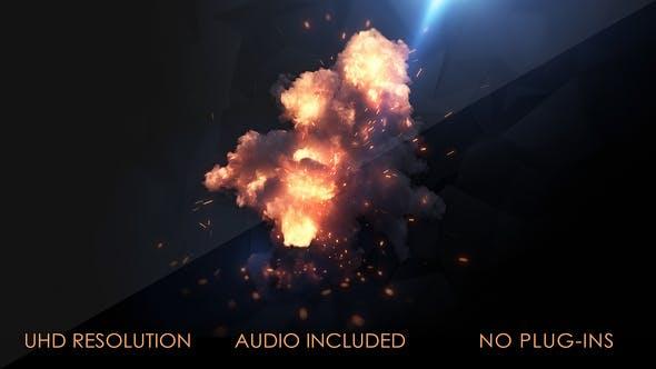 Thumbnail for Logo Fireburst