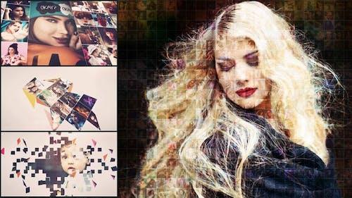 Mosaic Photo Animation