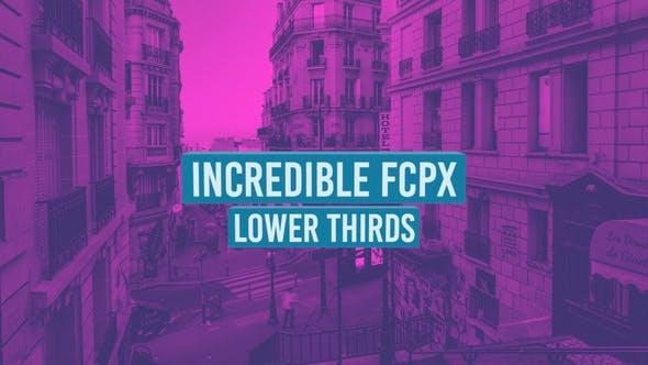 Thumbnail for Increíbles Tercios inferiores de FCPX