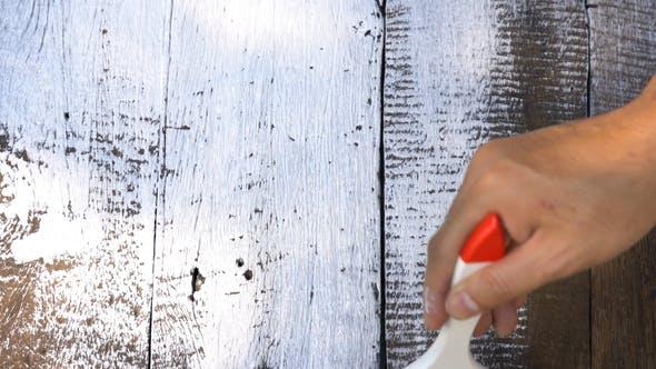 Thumbnail for Malerei auf Holz