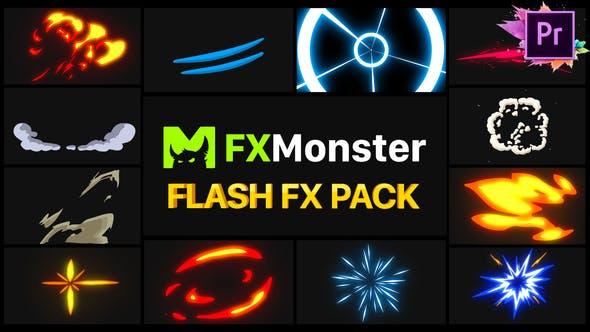 Thumbnail for Flash FX Pack | Premiere Pro MOGRT