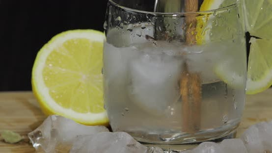 Thumbnail for Add Spices To the Lemon Cocktail and Chop with a Spoon