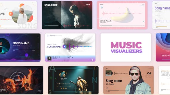 Audio Music and Podcast Visualizers