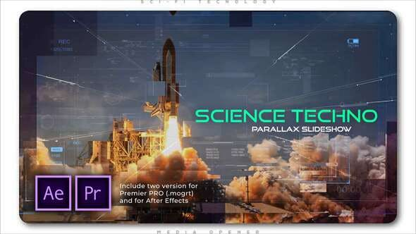 Thumbnail for Science Techno Parallax Slideshow