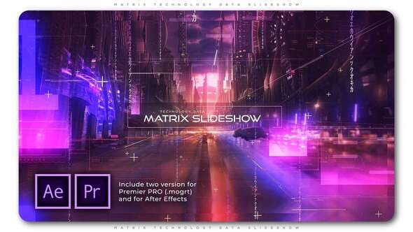 Thumbnail for Matrix Technology Data Slideshow