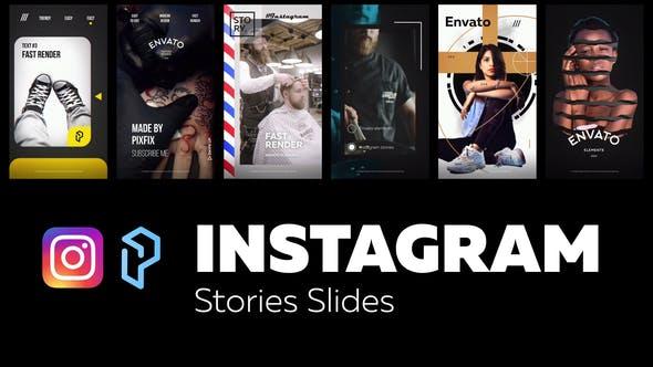 Thumbnail for Instagram Stories Slides Vol. 5