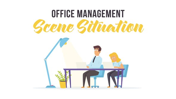 Office management - Scene Situation