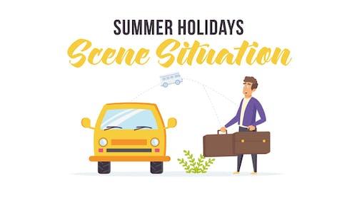 Summer holidays - Scene Situation