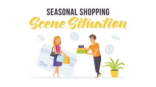 Seasonal shopping - Scene Situation