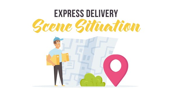 Express delivery - Scene Situation