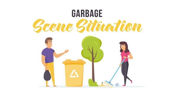 Thumbnail for Garbage - Situation de la scène
