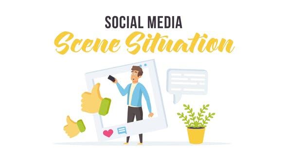 Thumbnail for Médias sociaux - Situation de la scène